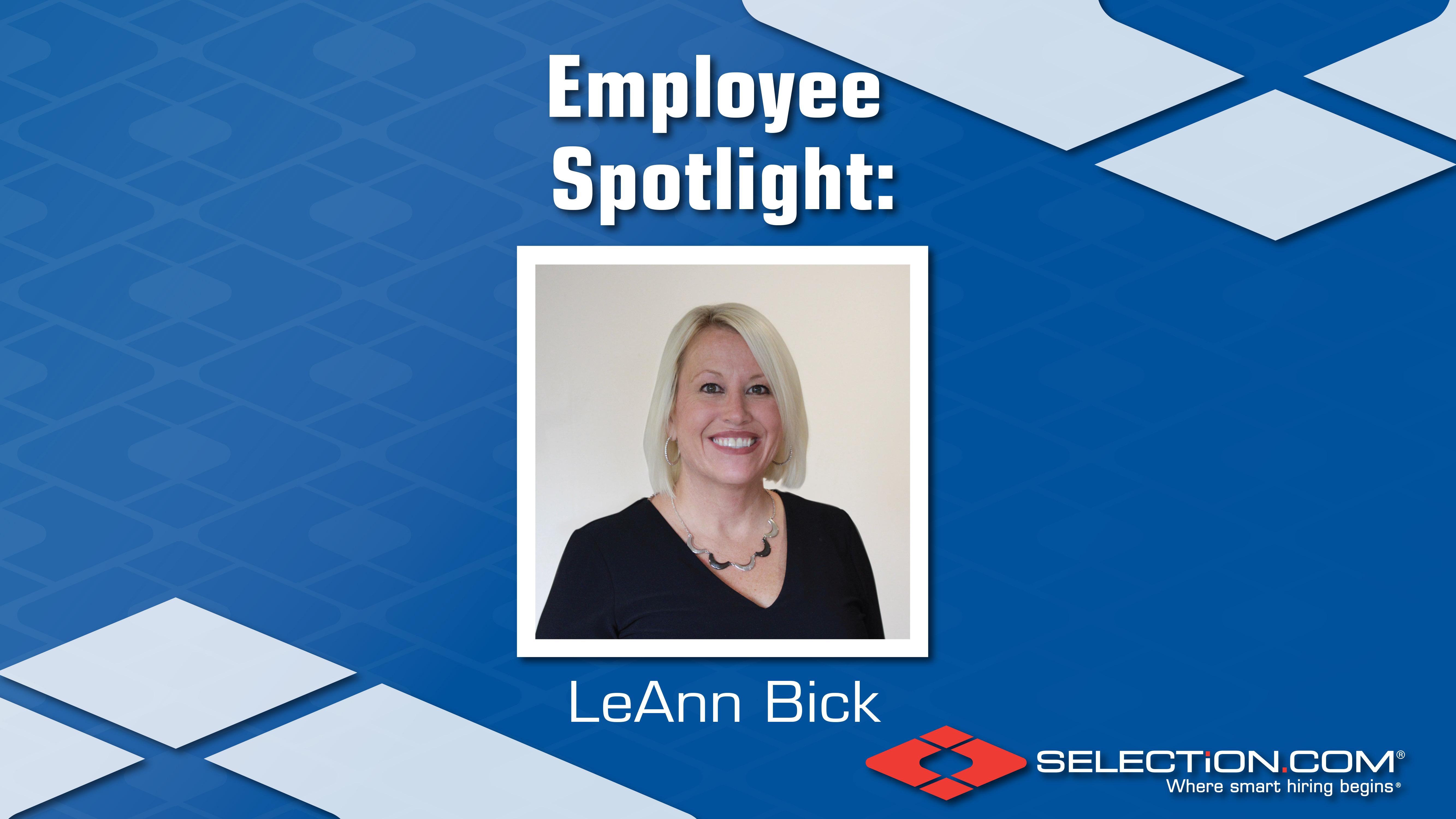 Employee Spotlight- Leann