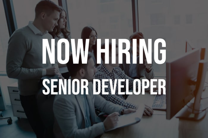 Hiring: Senior Developer