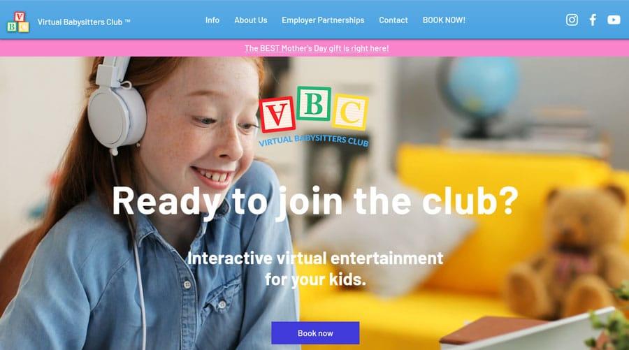 Virtual Babysitters Club Partnership
